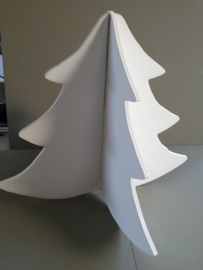 Kerstboom 3d Wit Partijhandelaren Nl
