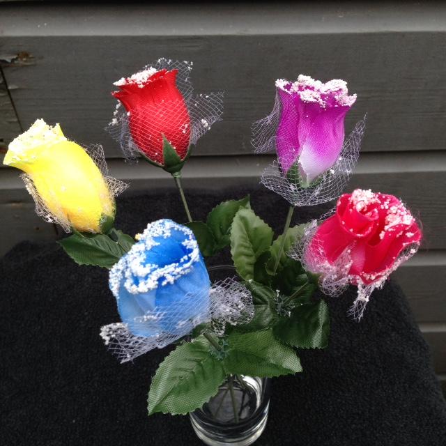 Uitgelezene Partij kunstbloemen, mooie kunst rozen € 0,22 - PartijHandelaren.nl ZF-66