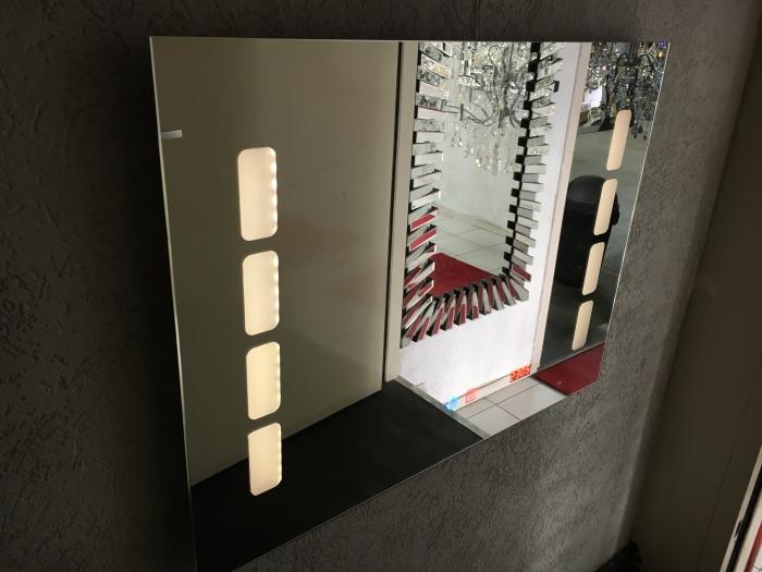 Badkamerspiegel met verlichting en verwarming partij nieuw Badkamerspiegel met led verlichting en verwarming