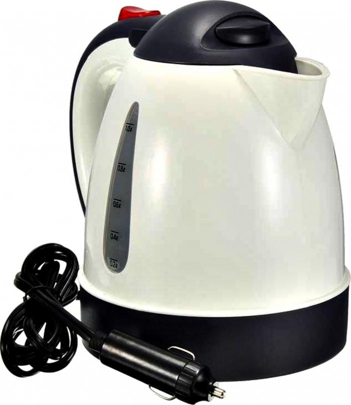 Beste 12 Volt Auto Waterkoker - 12V Mini Reiswaterkoker - 1 Liter - 150W HF-87